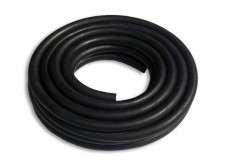 black gas hose