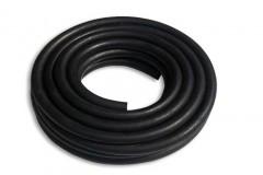black gas hose
