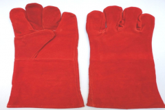 Cow Split Leather Hand Gloves
